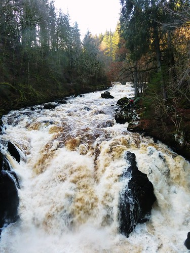 Falls of Braan at Ossian's Hall