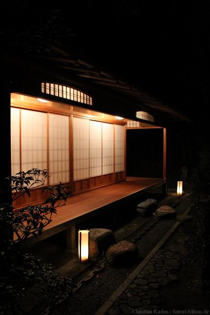 Light up at Shorenin Temple, Kyoto