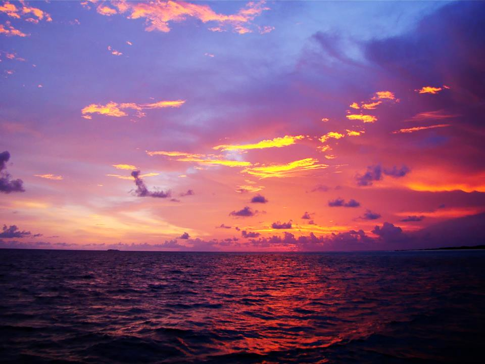 Sunset at Baa Atoll Maldives | Sunset at Baa Atoll ...