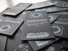 Norrman Photo Letterpress Cards