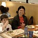 rahcel & nick, dining after karate @ sweet tomatoes    MG 3093