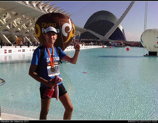 Primera maratón acabada!