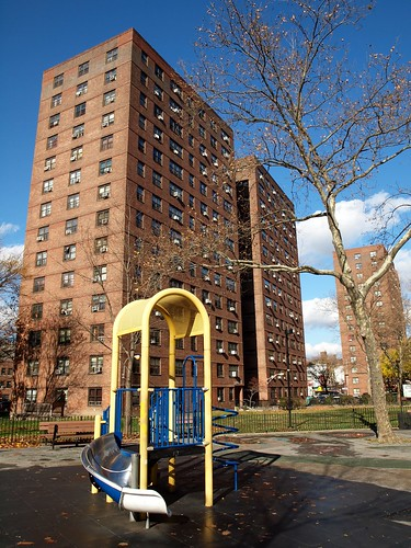 George Washington Public Housing, East Harlem, New York City