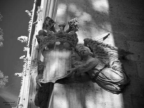 Fachada. La Lonja de Valencia by Quique Castell
