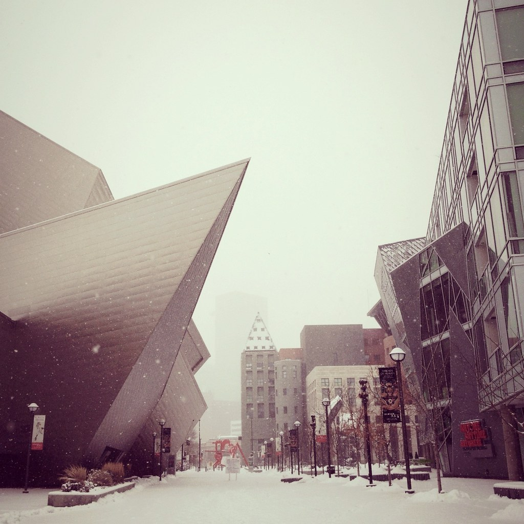 Snow day in Denver