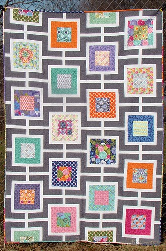 Tangled Windows Quilt
