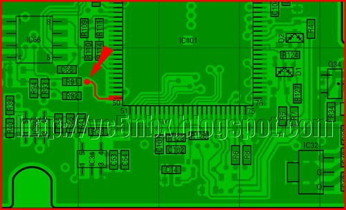 TM-271 PCB BOTTOM