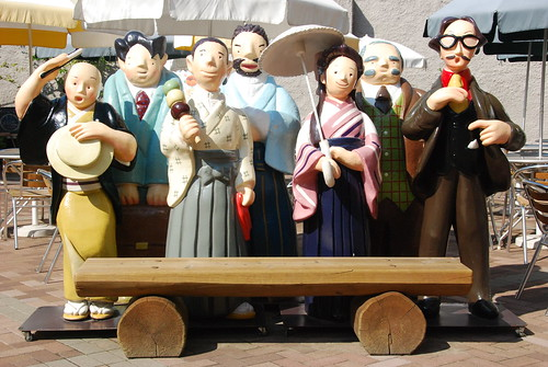 Characters from Natsume Sōseki's famous novel Botchan