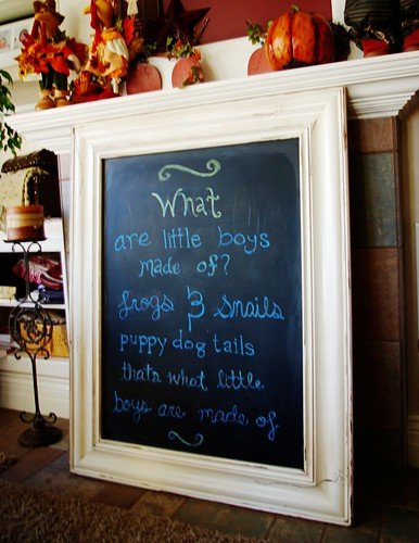 Baby Shower Chalk Board