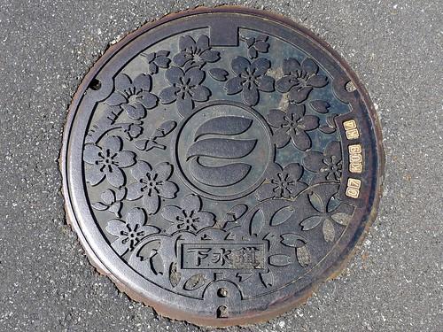 Echizen Fukui manhole cover(福井県越前市のマンホール)