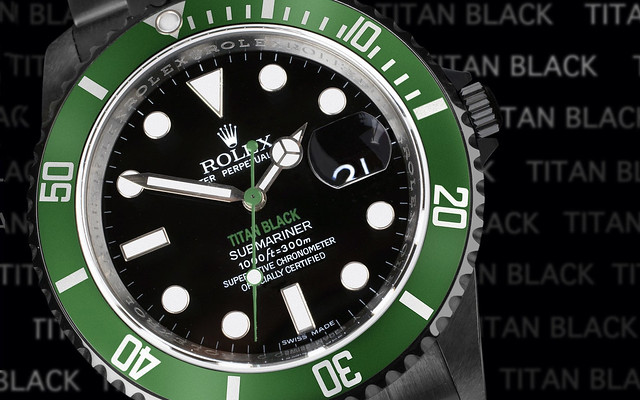 Rolex Submariner Black Celebrity