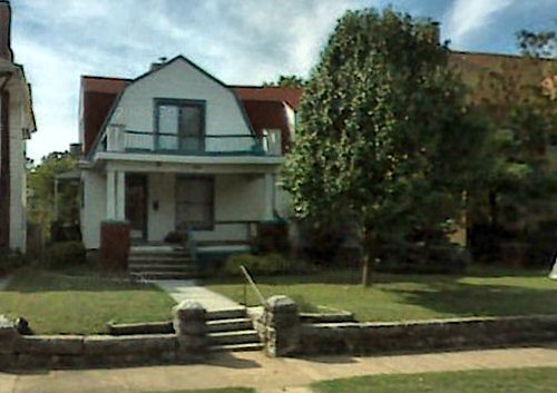 Alfred W. Rea cottage in Joplin Missouri Present Day
