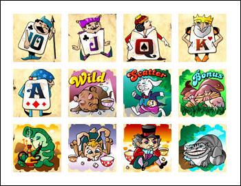 free Forest of Wonders slot game symbols