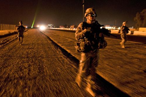 US Troops leave Baghdad
