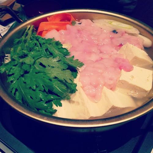 白子入り湯豆腐
