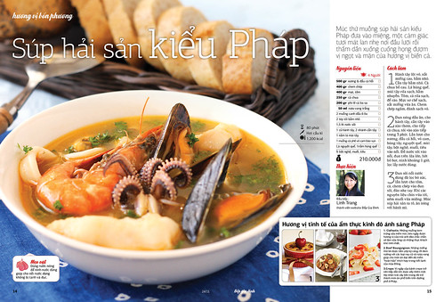 Bouillabaisse (on Family Kitchen Magazine 24 Nov 2011)