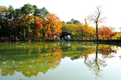 Tianping Hill 天平山 十景塘