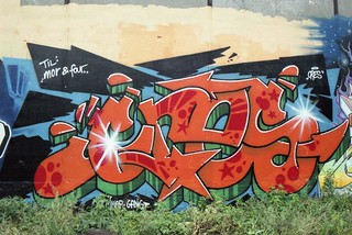 Nørrebro graffiti, 1999