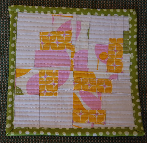 scrappy potholder by blooming poppies