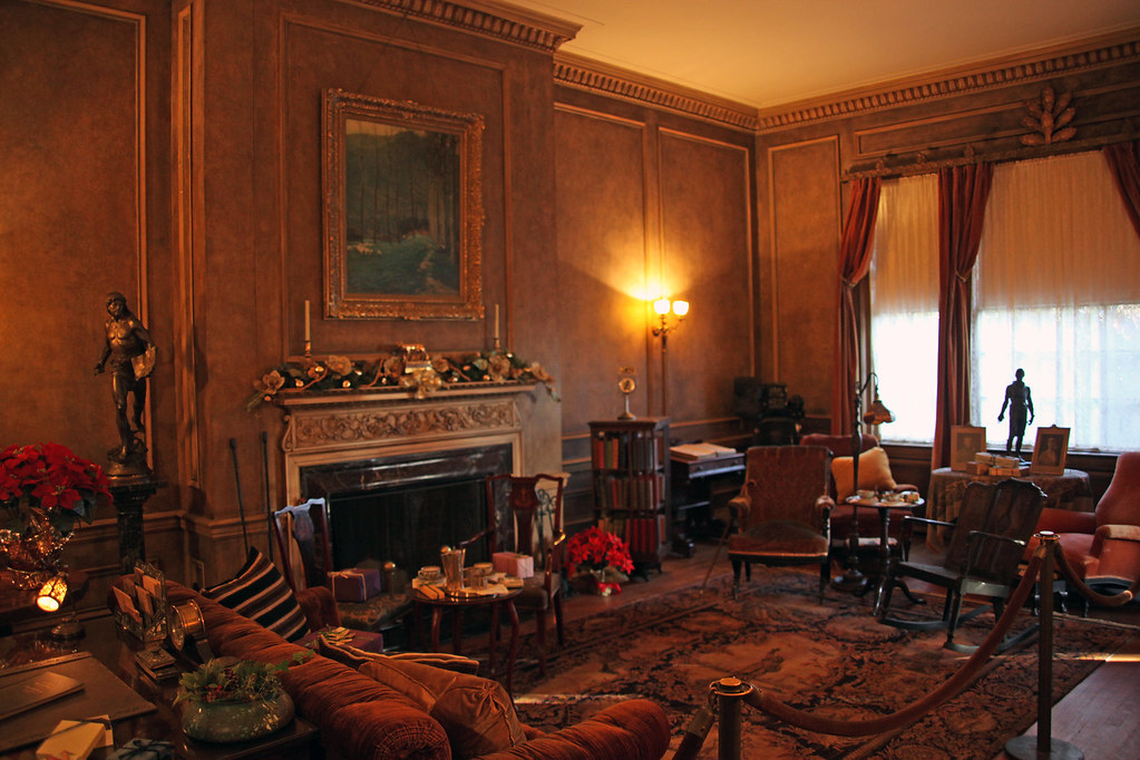 Woodrow Wilson House - library 08 - 2011-12-04