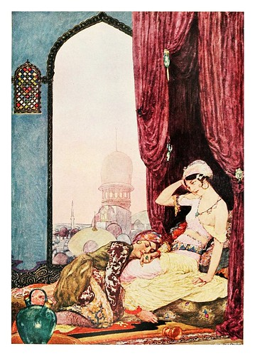 025-Rubáiyát of Omar Khayyám 1900- ilustrado por Willy Pogany
