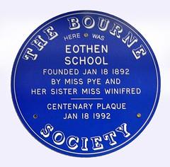 Photo of Blue plaque № 8293