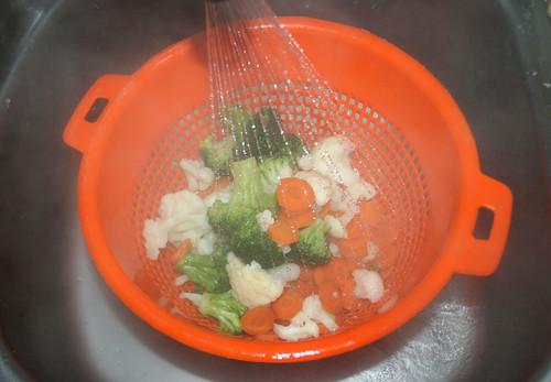 19 - Gemüse abgießen