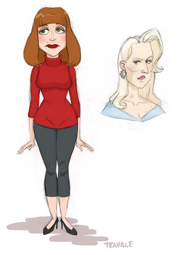 death becomes her sketches
