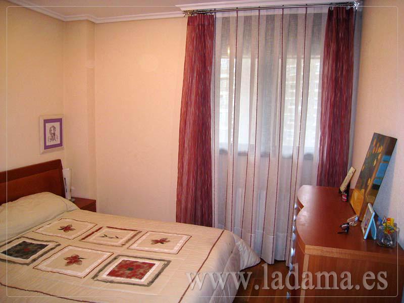 Decoraci n para dormitorios modernos cortinas en barra - Cortinas juveniles modernas ...