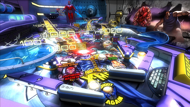 Marvel Pinball: Vengeance and Virtue: X-Men Table