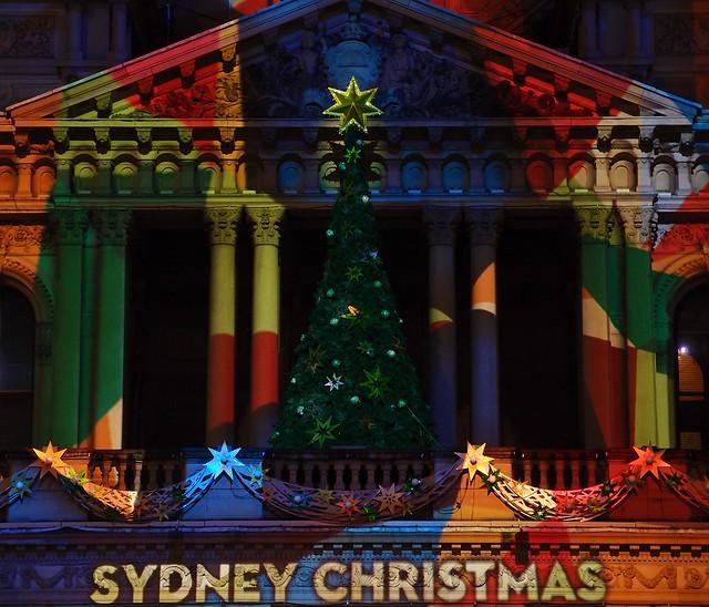 Sydney Christmas - Sydney Town Hall