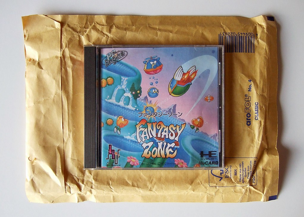 Fantasy Zone (PC Engine) | For a bit more on this game (and