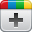 google-plus icon for vignettes