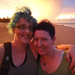 me & bec at sunset by goatsfoot