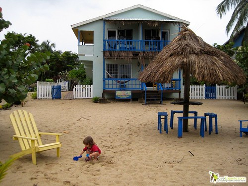 budget family travel belize beachfront hotel