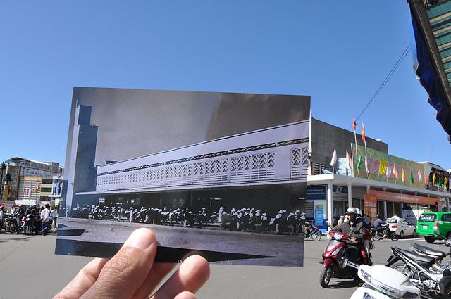 Chợ Hòa Bình, Đà Lạt năm 1948