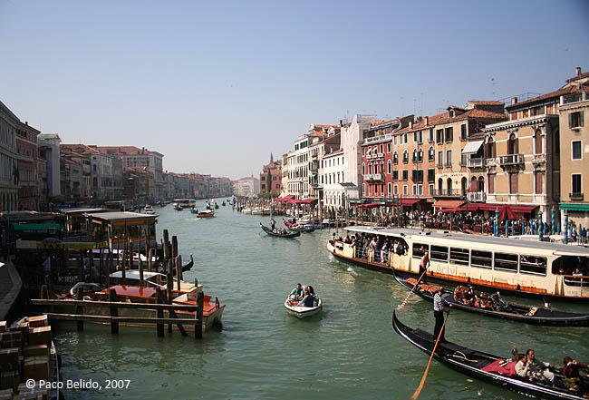 Gran Canal. © Paco Bellido, 2007