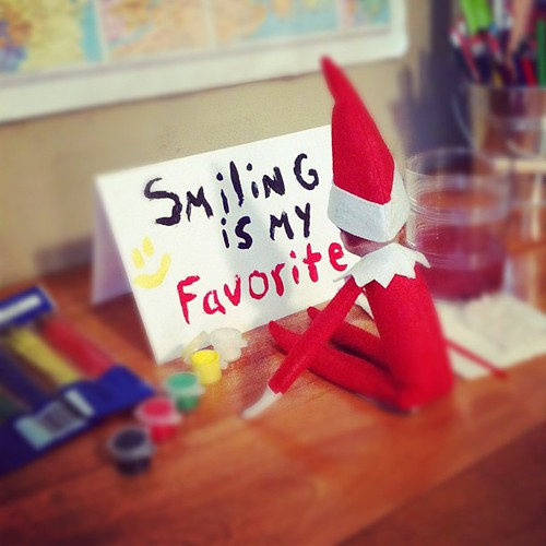 Elf Art. #elfontheshelf