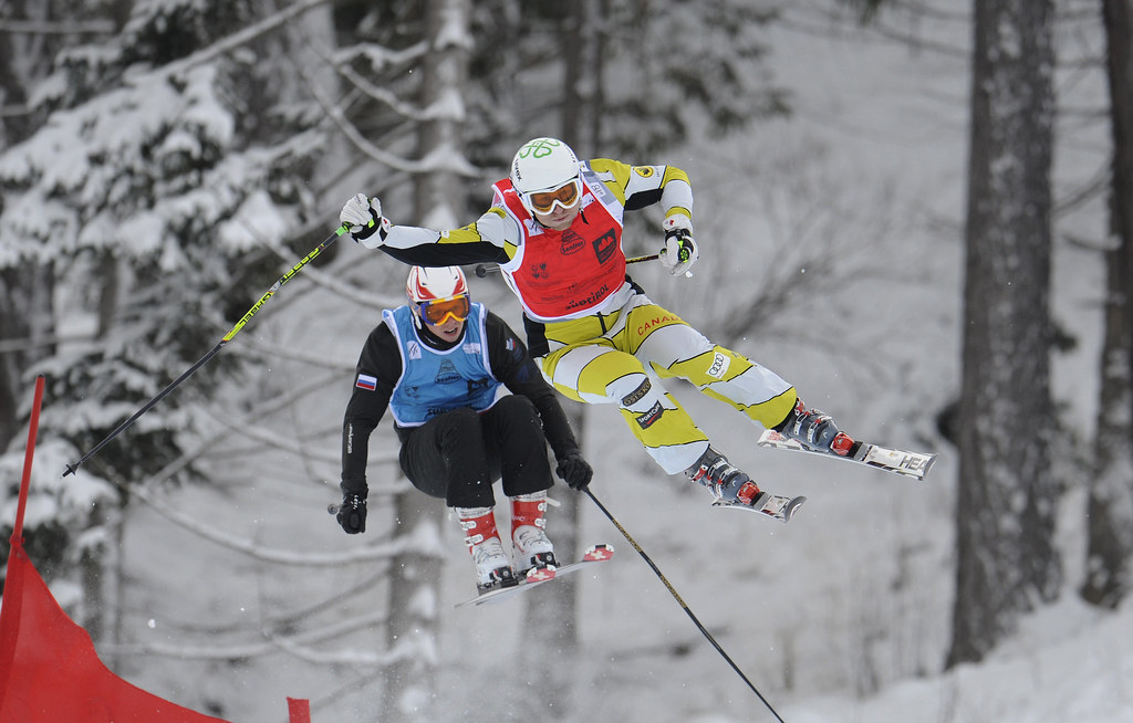 Brady Leman wins his first World Cup gold in Innichen/San Candido in his first race back from injury.