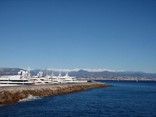 Zima w Antibes