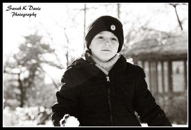 Caden in the Snow