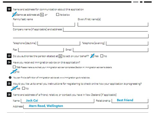纽西兰打工度假-申请表格注意事项