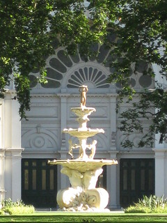 The Hochgurtel Fountain Outside the Royal Exhibition Building's Great Hall - Melbourne