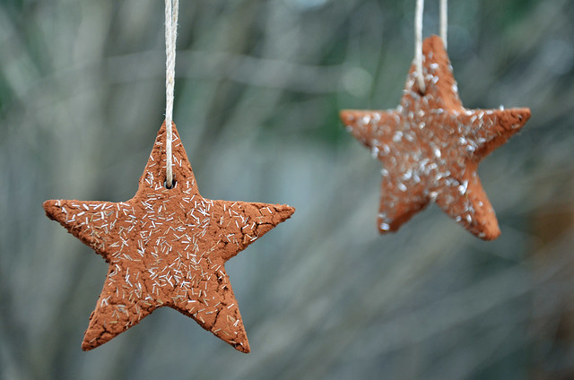 DIY star ornaments