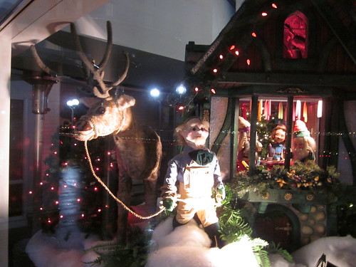 Christmas at Canada Place (Woodwards Windows)