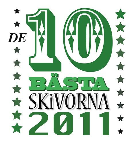 De 10 bästa skivorna 2011