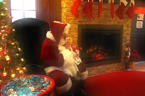 Eleanor meets Santa
