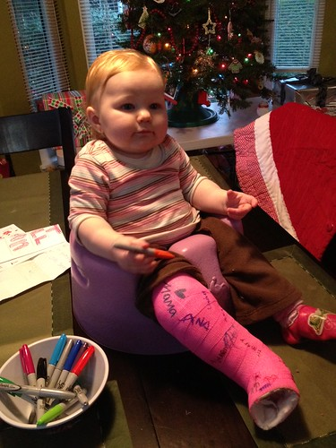 "Hadley wanted to ""sign"" her own cast"