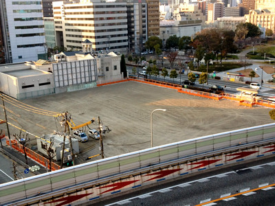 旧大阪市水道局扇町庁舎跡地