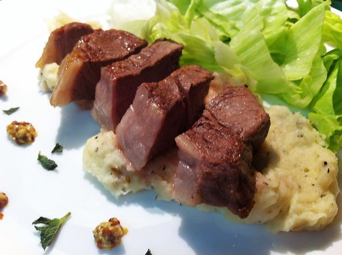Lamb Rump with Parsnip & Cardamom Mash by mjd-s